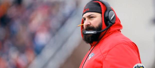Matt Patricia started his NFL coaching career with the Patriots in 2004. [ image credit: CBS Sports Radio/YouTube screenshot ]