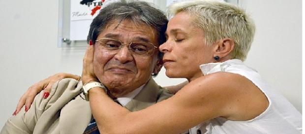 Roberto Jefferson, presidente do PTB e pai da ministra do Trabalho Cristiane Brasil