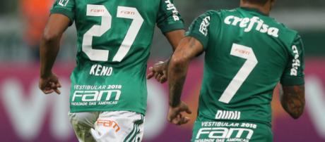 Keno e Dudu são os dois grandes atacantes do clube