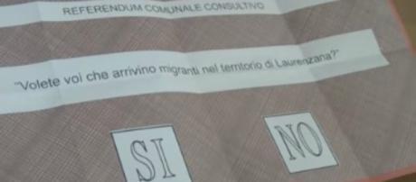 Referendum, ecco il quesito stampato sulla scheda.