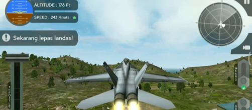 """Avion Flight Simulator"" was developed by an Indian developer. Image Credit: Aji Hasan / YouTube"