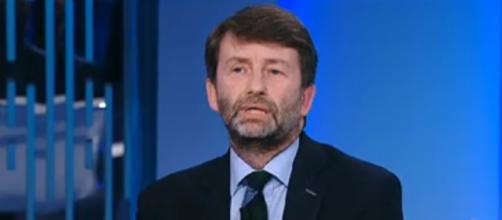 Dario Franceschini del PD parla di cultura ma anche del futuro politico del paese