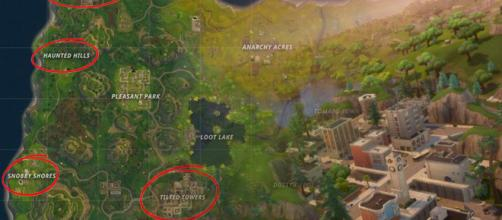 """""""Fortnite"""" Battle Royale is getting an updated map. Image Credit: Own work"""