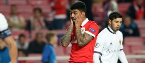 Gabriel não tem vivido bons dias no Benfica