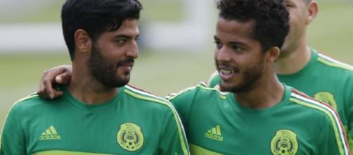 Gio Dos Santos y Carlos Vela en la MLS