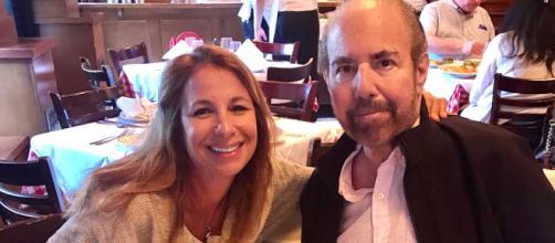 Jill Zarin poses with her late husband, Bobby Zarin. [Photo via Instagram]