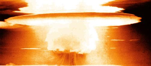 Nuclear explosion [image courtesy United States Defense Department wikimedia commons]