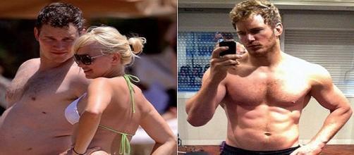 O físico do ator antes e depois da Marvel