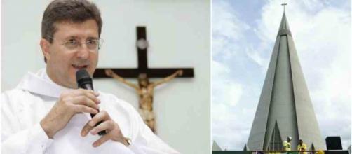 Padre ataca manifestantes a favor de Sérgio Moro