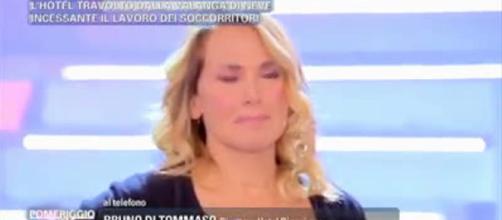 Pomeriggio 5, Barbara D'Urso shock
