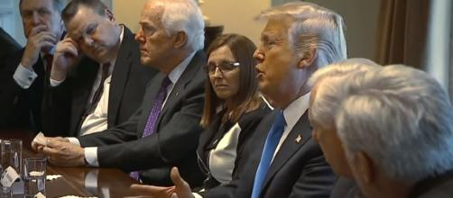 Questions loom over President Trump and other officials' response to false alarm. - [CBS News / YouTube screencap]
