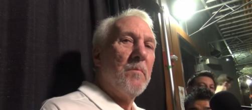 Spurs head coach Gregg Popovich speaks to media about LaVar Ball (Image Credit: LA PostExaminer/YouTube)