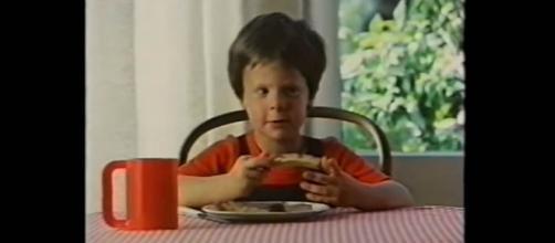 The Redro boy advertising a favorite fish paste [Image credit: Shaun Kramer/YouTube]