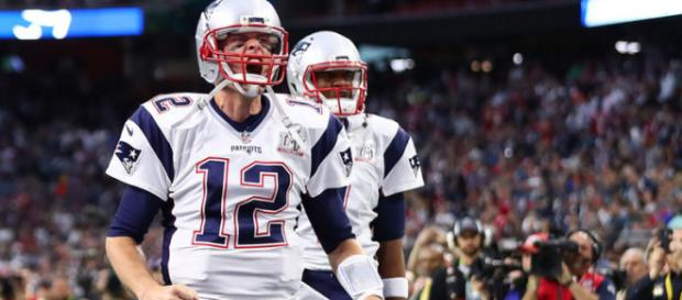 Brady and the Patriots are headed to their 7th straight AFC championship. [Image via NFL.com/YouTube]