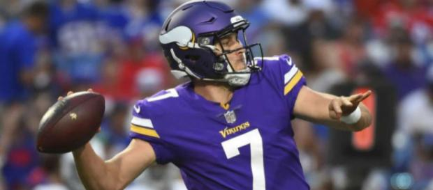 Case Keenum has lead the Vikings to the NFC championship game. [Image via NFL.com/YouTube]