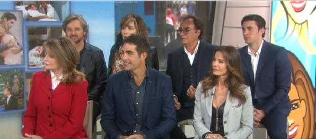Days of our Lives cast members. (Image via YouTube screengrab/Today Show)
