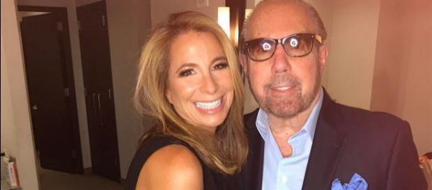 Jill Zarin poses with her late husband. [Photo via Facebook]