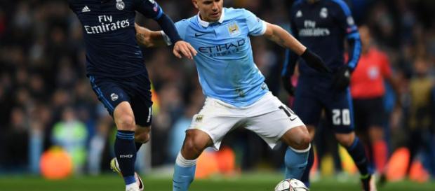 Manchester City y Real Madrid en juego.