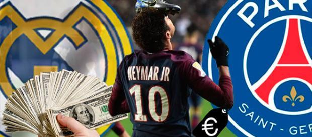 Neymar podría llegar al Real Madrid por una cantidad sin precedentes