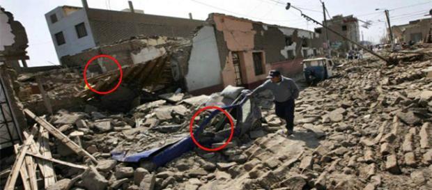 Terremoto causa destruição no Peru