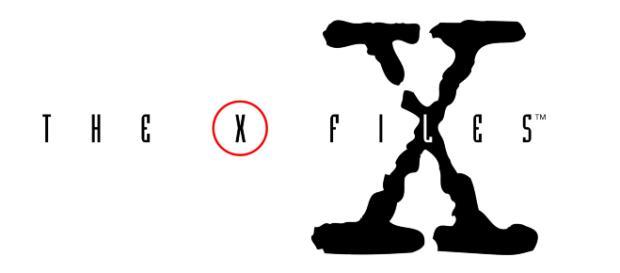The x files theme title. (Images via X-FilesWikimedia Commons)