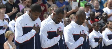 Kevin Durant has some words for the Cavaliers [Image by MD Myles Culle / DOD Live]