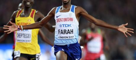 Mo Farah feliz de ser nominado