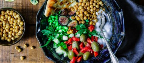 A Mediterranean diet can lower your risk of frailty. - [via Edgar Castrejon / Unsplash]