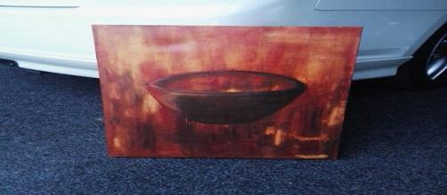 Dono revela ter adquirido obra assombrada em antiquário da Nova Zelândia (Trademe)