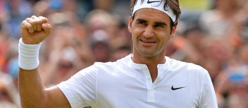 Federer le gano a Bedene en un juego espectacular