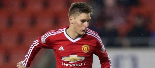 Jogador em atuação pelo Manchester United (Foto: ESPN)