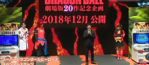 Mas información sobre nueva películas de Dragón Ball