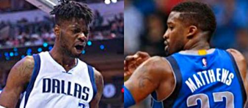 Nerlens Noel and Wes Matthews are enticing trade targets for Cavs – [image credit: Ximo Pierto/YouTube]