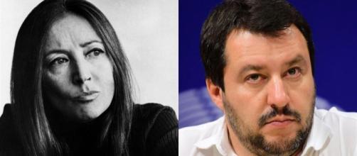 Razza bianca e Rischio Eurabia: Salvini cita la Fallaci
