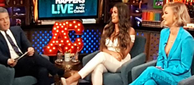 Brittany Cartwright appears on 'WWHL.' [Photo Credit: Bravo/YouTube screencap]