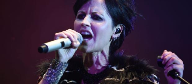 Die Sängerin bei einem Konzert