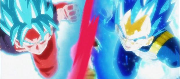 Goku y Vegeta junto enfrentan a Jiren