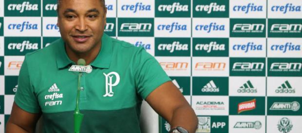 Roger Machado, novo técnico do Palmeiras