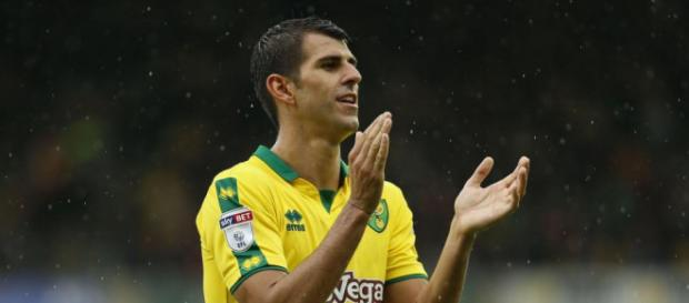 Wolves eye January swoop for Norwich striker Nelson Oliveira. ...pic - thesun.co.uk