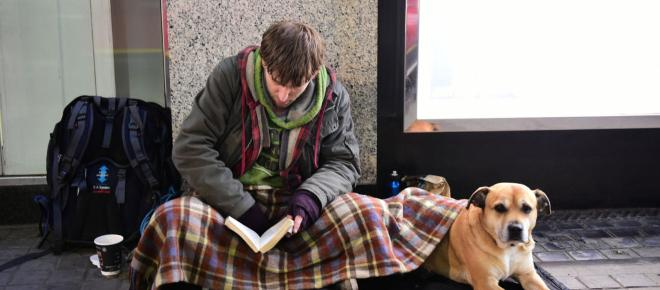 City Council puts up posters telling public not to give money to the homeless