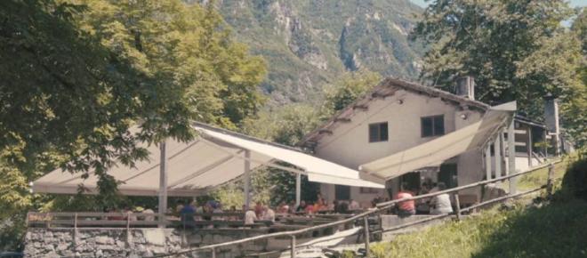 Andar per Crotti in Valchiavenna