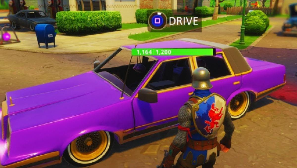 Fortnite Developer Talks About Adding Vehicles To Battle Royale Mode