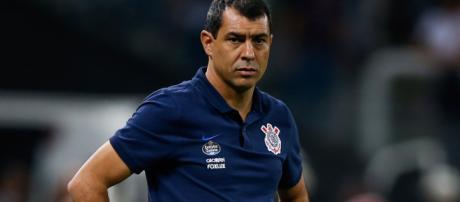 O técnico do Corinthians é Fábio Carille