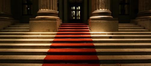 A red carpet famous at award shows Image via Wikimedia Commons