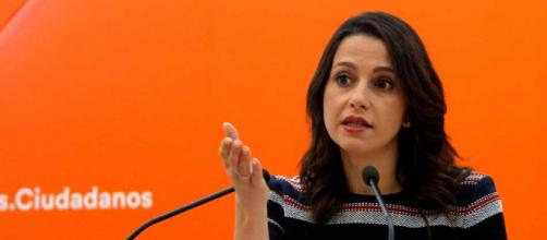 Arrimadas se pronuncia sobre la investidura de Puigdemont