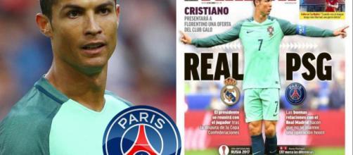 Cristiano Ronaldo PSG O REAL MADRID