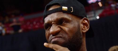 Drama is brewing in Cleveland as LeBron James and the Cavaliers continue to lose games. -- [ESPN / YouTube screencap]