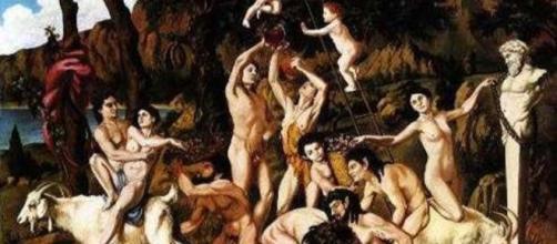 I Lupercali in un dipinto - Abruzzo24Ore