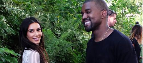 It's a GIRL!! Kim Kardashian & Kanye West Welcome Baby #3 via Surrogate. [image credit: Hollyscoop / YouTube ]