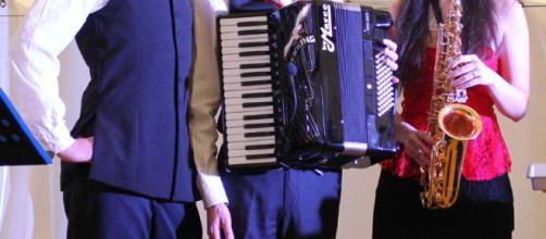 Mare Liscio Band: Maurizio Verdi, Elisa Cozzani, Federico Cozzani